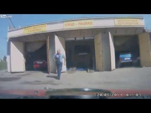 Auto ohne Bremsen