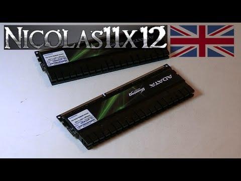 ADATA XPG G Series v2.0 8GB DDR3-2000 Memory Review
