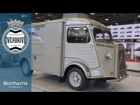 The Citroën H van is more than a hipster coffee truck