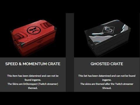 NEW GHOSTED CRATE (shroud's skins) [PUBG] - смотреть онлайн на Hah Life
