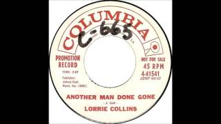 """Lorrie Collins: """"Another Man Done Gone"""""""