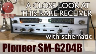 Pioneer SM-G204B Stereophonic Receiver. A look at this amazing receiver.