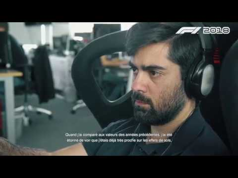 F1 Car Handling | Developer Diary 3 [FR] de F1 2018