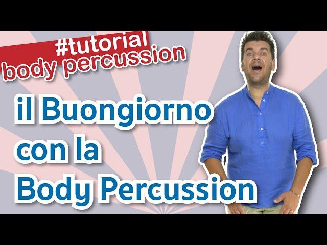 Video Pronunciation of Buongiorno in Italian
