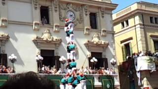 preview picture of video 'Td9 Castellers de Vilafranca - Sant Fèlix Human Towers - Vilafranca del Penedès 2011'
