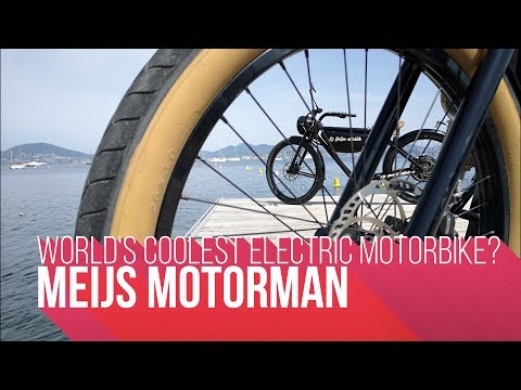 World's Coolest Electric Motorbike? | Meijs Motorman