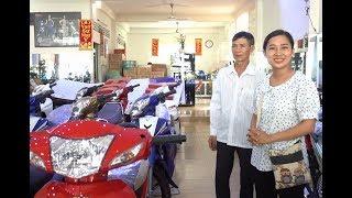 Nhà quê đi tỉnh mua xe - Hương vị đồng quê - Bến Tre - Miền Tây