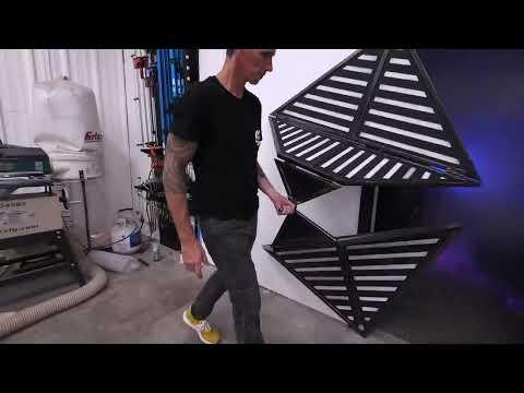 嘗試做出可折疊的門