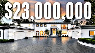 What $23,000,000 Gets You In Beverly Hills | MEGA MANSION TOUR