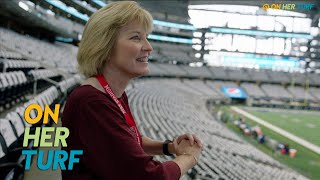 How Charean Williams shattered barriers covering the NFL | On Her Turf | NBC Sports