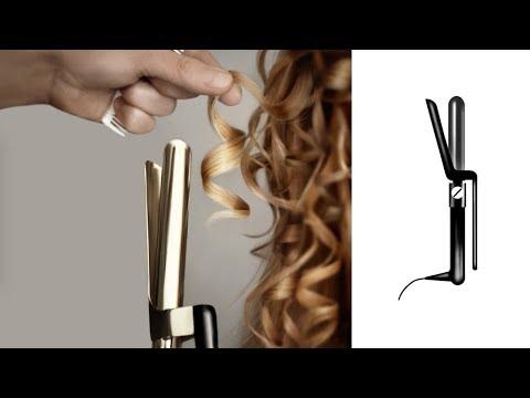 Tutorial de pelo : Cómo utilizar una tenaza de barra.