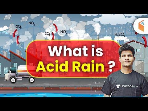 Mechanical by Neeraj Sir | What is Acid Rain? (  Acid Rain)