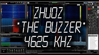 """Russian station """"The Buzzer"""" - 4625 kHz"""