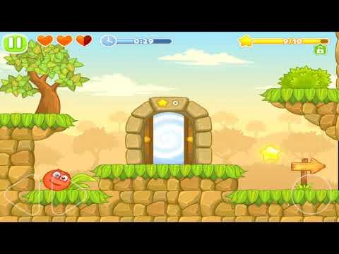 Видео Red Ball 5 : Jump Ball Adventure