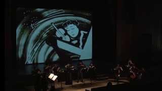 Pour l'amour d'un Stradivarius (sand art Cedric Cassimo)