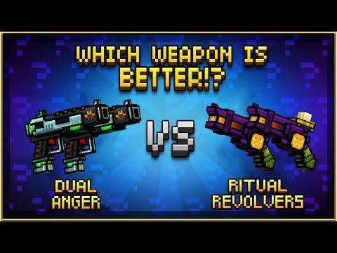Dual Anger VS Ritual Revolvers - Pixel Gun 3D