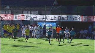 Fc Bari - Pinè: gli highlights dell'amichevole