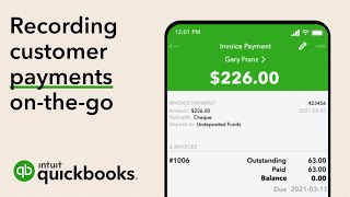 How to Record Customer Payments in the QuickBooks Mobile App