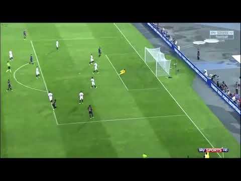 Le superbe but de Dembouz vs Séville FC