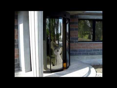 Porta Automática Curva