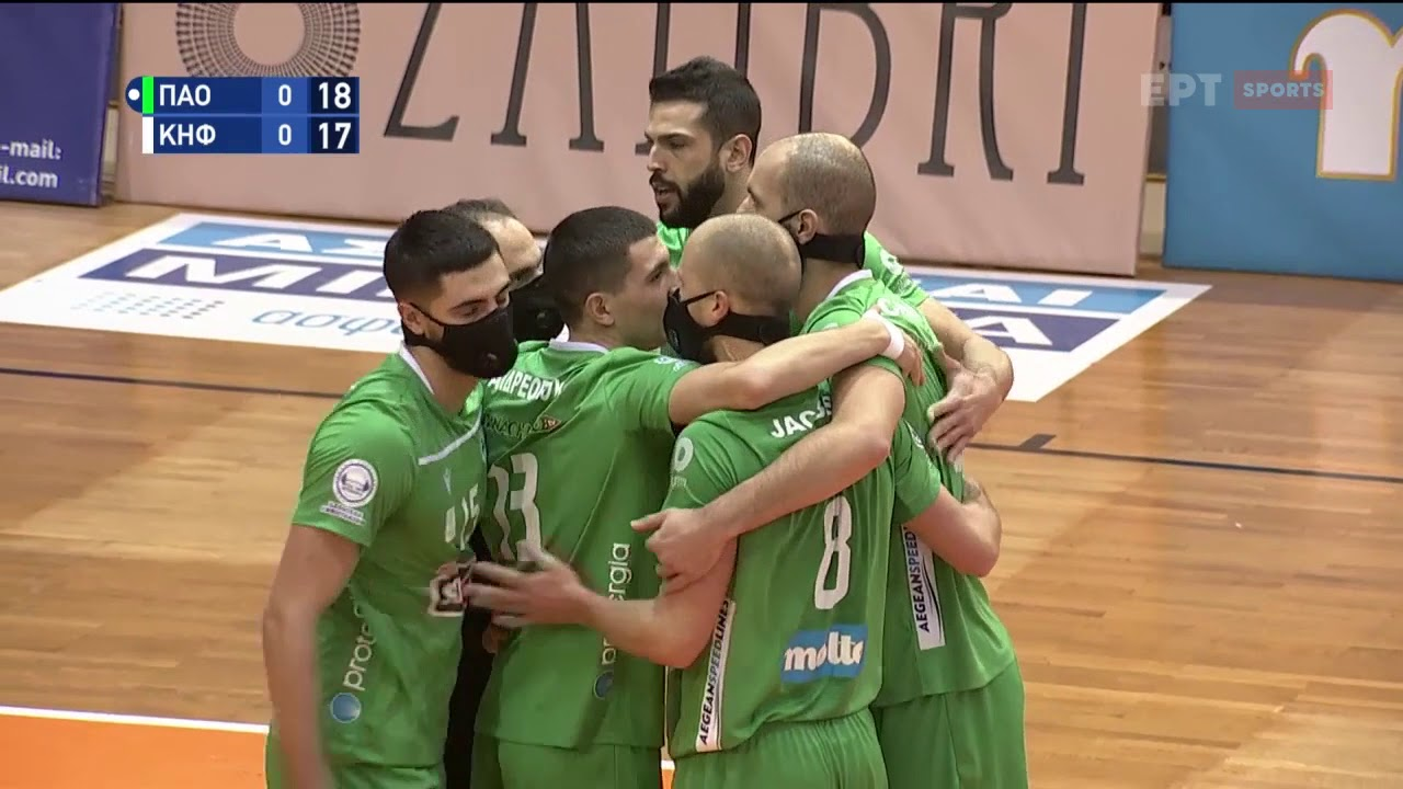Volley League: Παναθηναϊκός – Κηφισιά 3-0   HIGHLIGHTS   10/02/2021   ΕΡΤ