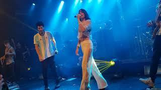 Te quiero mas- T❤+ - Tini Stoessel y Sebastian Yatra La trastienda 06-12-17 Buenos Aires Argentina