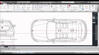 AutoCAD Inserting / Importing Images, Scaling Images, Tracing Images