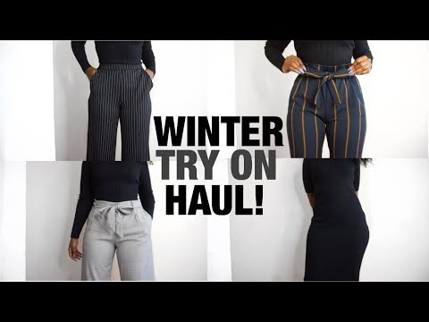AFFORDABLE WINTER TRY ON HAUL!