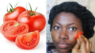 I APPLY TOMATO ON MY FACE EVERY NIGHT, THIS IS WHAT IT DID TO MY SKIN