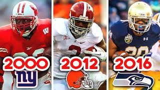 The NFL's BIGGEST RB Draft Bust Every Year From 2000 to 2020