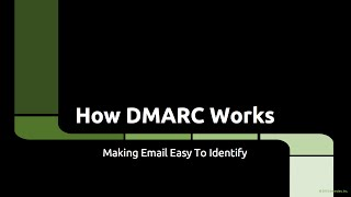DMARC - How It Works