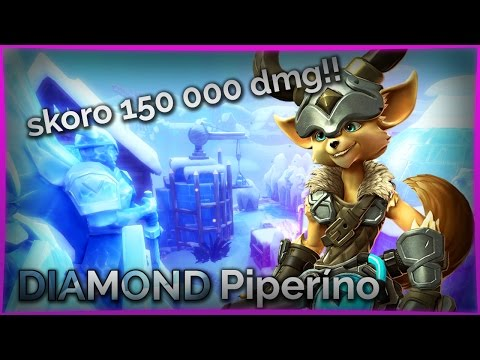 Hra, která dostala Pipa do Diamondu | skoro 150 000 dmg | Paladins