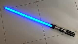 Star Wars Anakin To Darth Vader Color Change Lightsaber Review