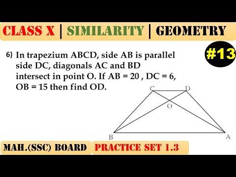 Similarity [Part 13] | Class 10 | Practice set 1.3 (MATHS 2) | Mah. (SSC) Board | Q6