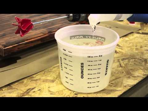 How To Mix Table Top Epoxy Tutorial