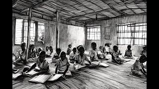 preview picture of video 'One Minute: Classroom in a village - Une classe dans un village - Senegal Africa'