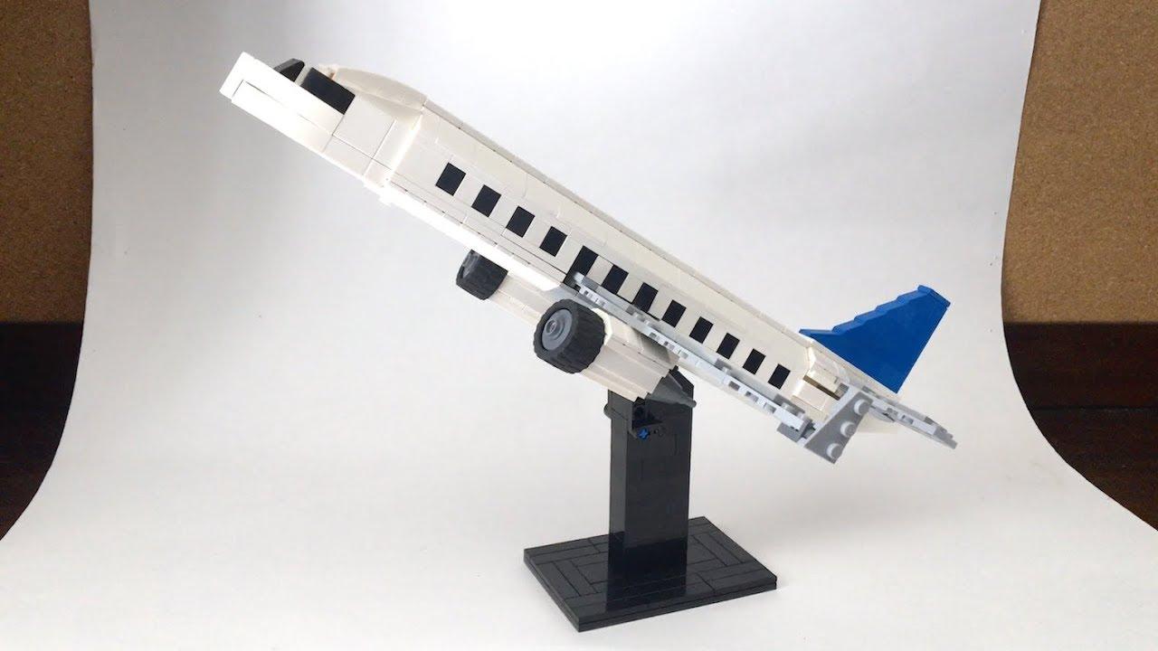 Detailed LEGO Passenger Plane MOC!