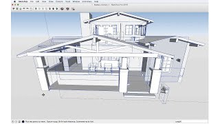 SketchUp Skill Builder: Visual Display Problems Due to Distance
