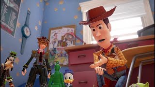 KINGDOM HEARTS III – D23 2017 Toy Story Trailer [multi-language subs] - dooclip.me