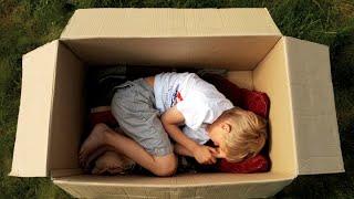 8 минут жизни картонной коробки
