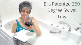 Ella Patented 360 Degree Swivel Tray Video