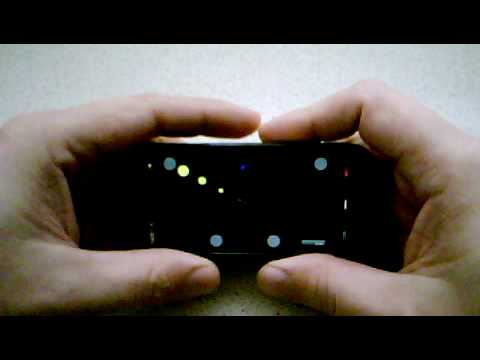 Multitouch Hacked Onto Nokia 5800 For The Noble Purpose of Rhythm Gaming