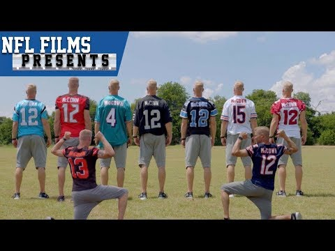 685e18c8d21 ... Josh McCown The Man of Many Jerseys NFL Films Presents ...