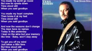 Vern Gosdin - Time Stood Still
