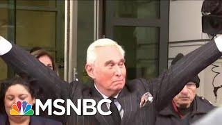 Developments In Three Robert Mueller-Related Cases Advance Trump Scandal   Rachel Maddow   MSNBC