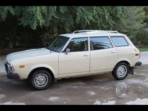 1979 Subaru 4WD wagon