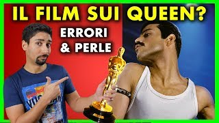 ERRORI & PERLE del Film sui QUEEN / FREDDIE MERCURY - Bohemian Rhapsody RECENSIONE di un Fan