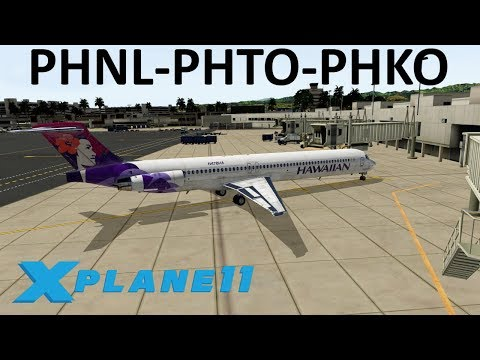 X-Plane 11 | Members only June Stream!! | MD80 | PilotEdge | Honolulu, Hilo & Kona!!