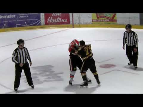 Olivier Dallaire vs. Vincent Dunn