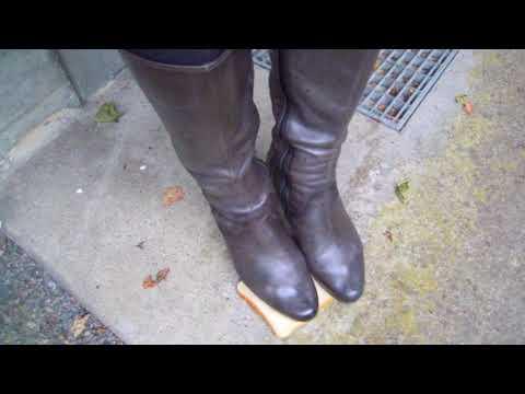 Meine Tamaris Leder Stiefel             My Tamaris leather boots